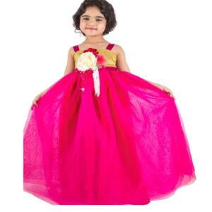gown-magenta-big-flower-1